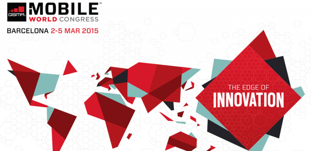 logotipo do Mobile World Congress 2015